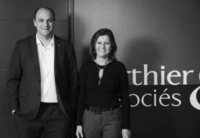 Franck & Isabelle, associés et dirigeants du Cabinet Berthier & Associés